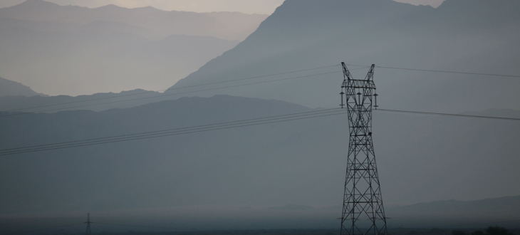 Vysokoteplotní nadzemní vedení