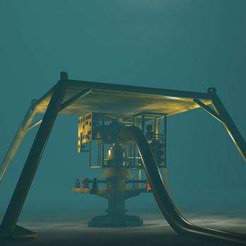 Podmořské pupeční šňůry, stoupací vedení a průtokové trasy (SURF)