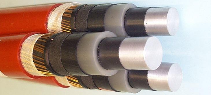 Středněnapěťové silové kabely