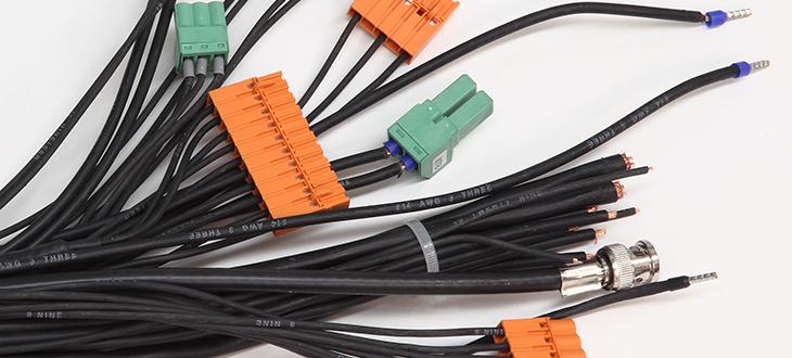 Příprava kabelových svazků a konektorizace