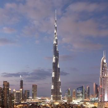 Burj Khalifa:  velmi vysoká bezpečnost