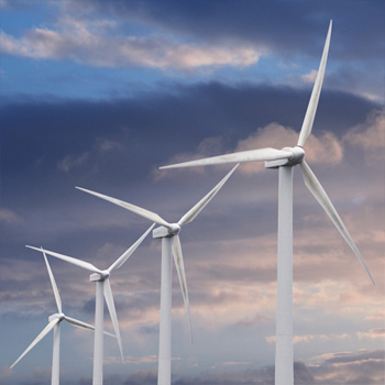 Svazování síly větru